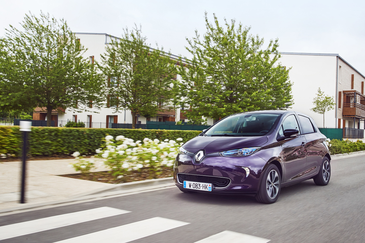 Beginning in September, Renault will gradually roll out the commercial fleet, which will include the ZOE, Twizy, Kangoo Z.E., and Master Z.E. models. - Photo courtesy of Groupe Renault.