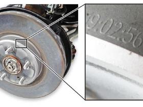 Brake Disc Caution