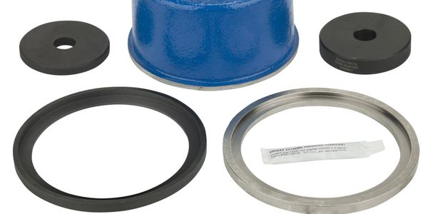 The OTC crankshaft seal and wear sleeve installer installs the front and rear crankshaft wear...