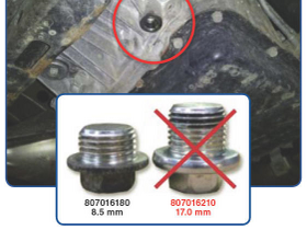 Subaru Diff Plug Fix
