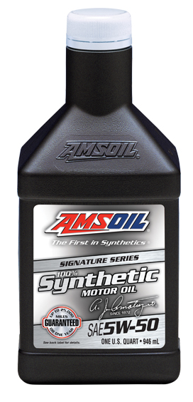 AMSOIL expands Signature Series line by adding a 5W-50