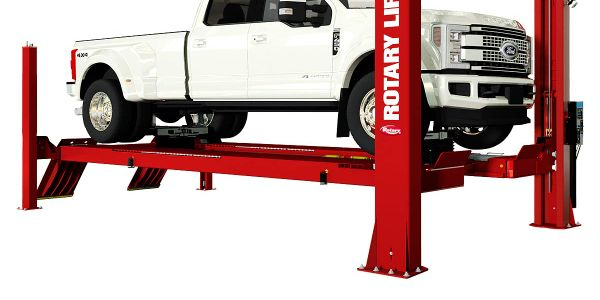 Rotary Lift says its new ARO22 high-capacity alignment lift can service everything from...