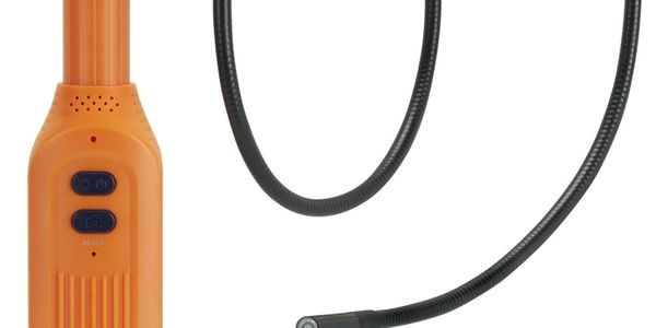 The new Actron Wi-Fi borescope camera from Bosch works with iPhone, iPad and Android smartphones...