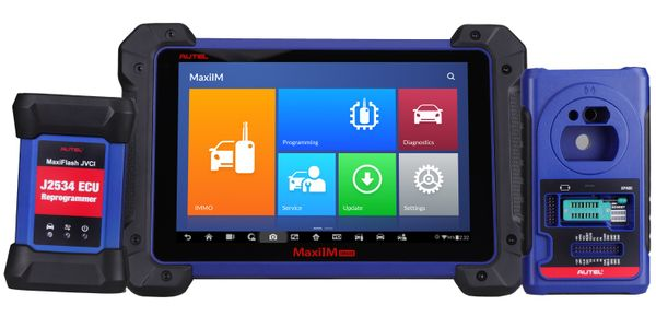 A software update is available for Autel key programming tool models IM608, IM508, IM600 and IM100.