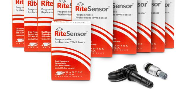 Rite-Sensor from Bartec is a programmable, single part, multi-frequency replacement TPMS sensor....