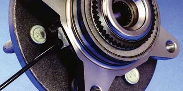 his bearing, wheel speed sensor and hub assembly is typical of the current trend. Exercise care...