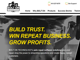 Bolt On Technology Launches New Website