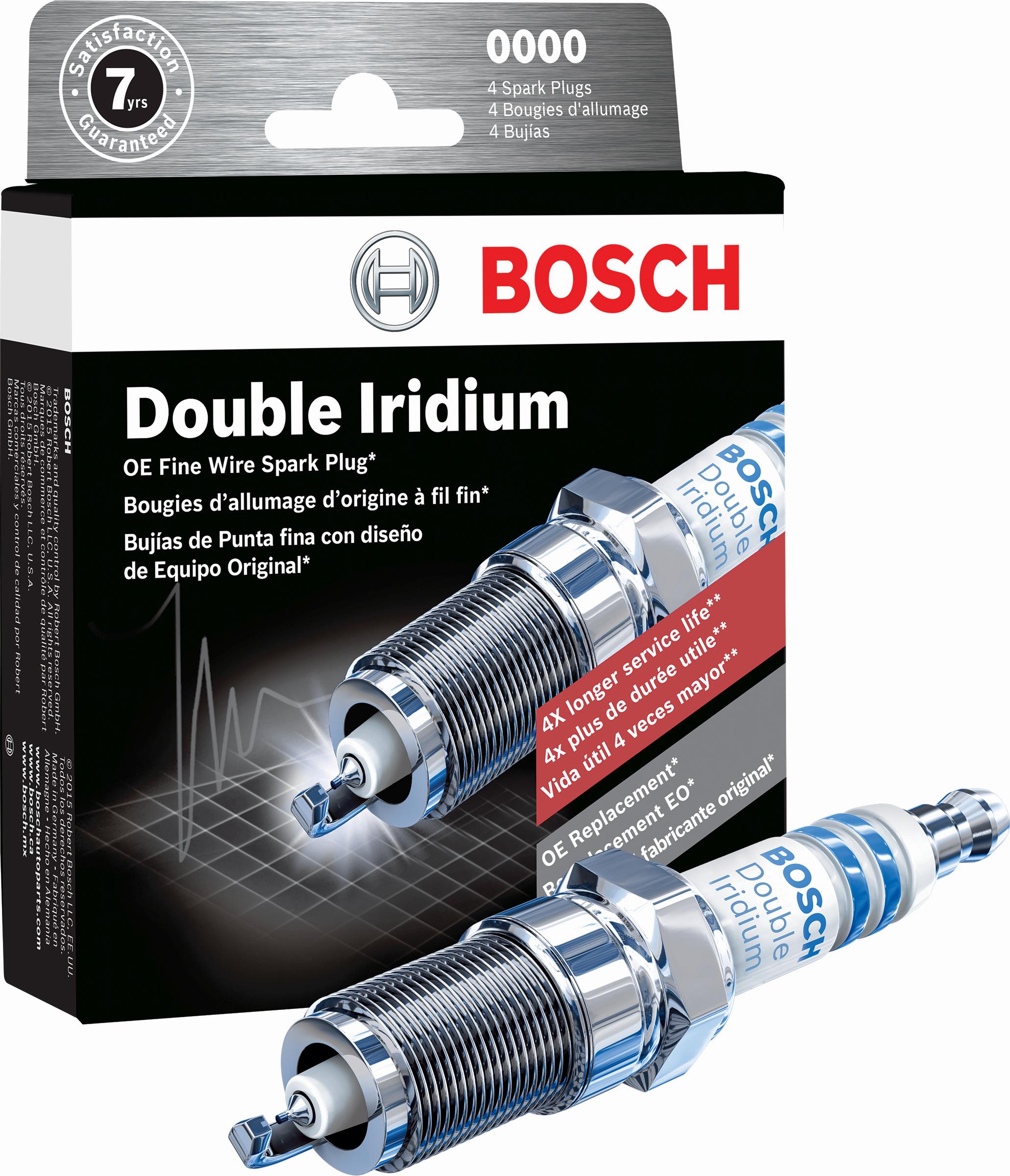 Bosch Launches Fine Wire Double Iridium Spark Plugs