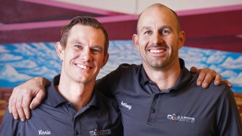Brothers Vinnie (left) and Anthony Lucido are the owners of CoAuto in Reno, Nev.