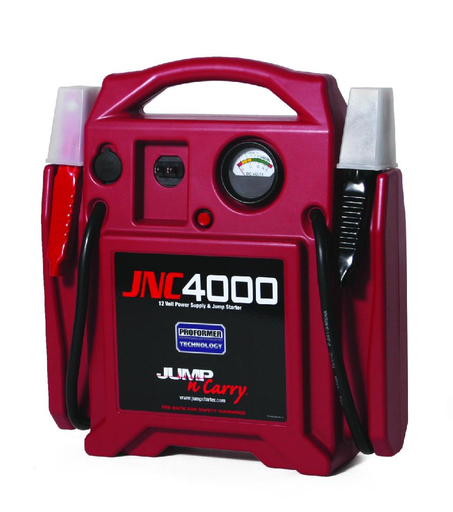 Jump-N-Carry 12-volt jump starter delivers 325 cranking amps