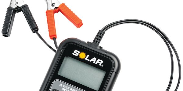 The new Solar 12-volt digital battery and electrical systems tester, model no. BA6, is...