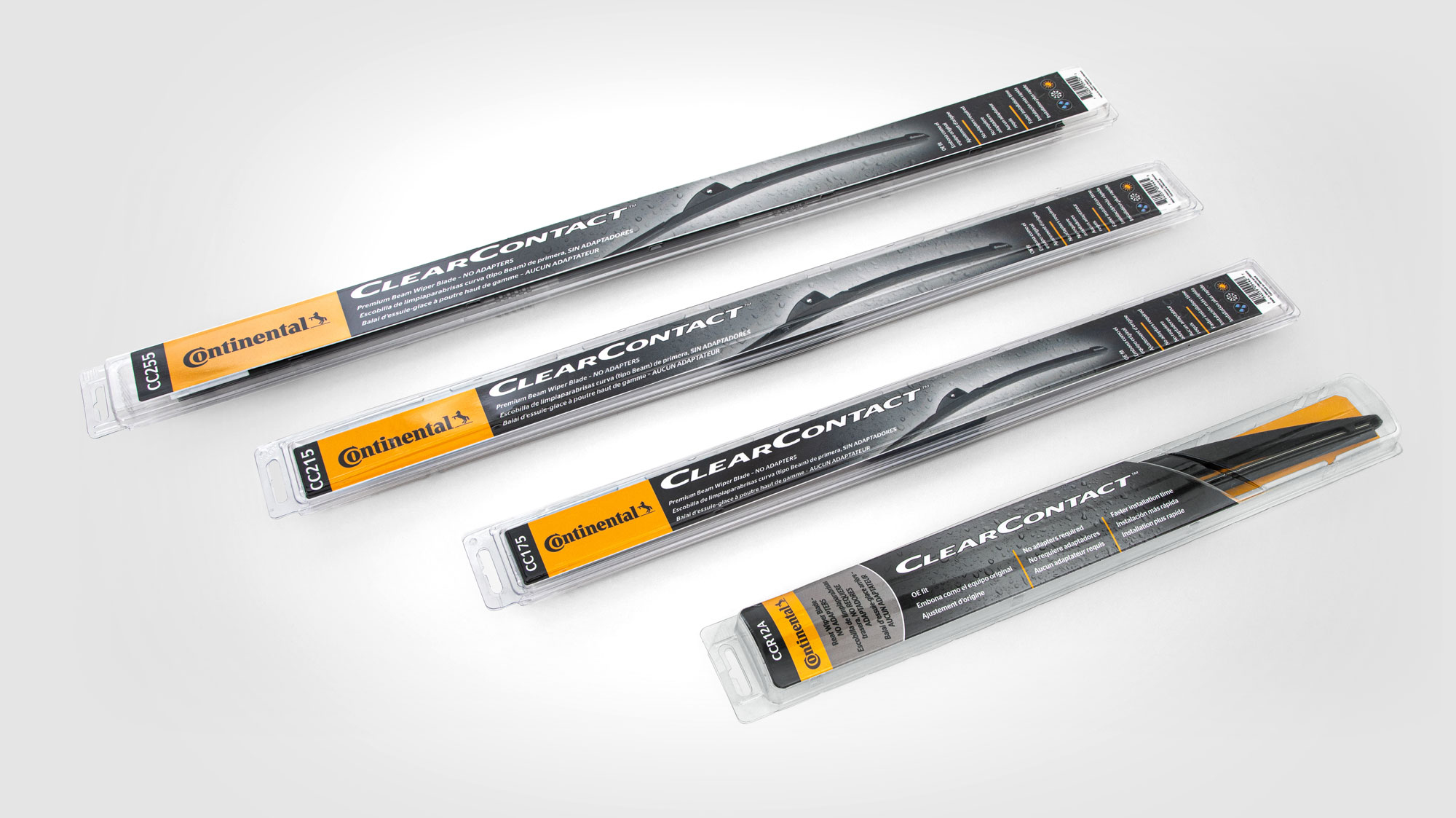Continental Unveils ClearContact Premium Beam Wiper Blades