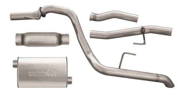 The latest stainless steel Dynomax Performance exhaust kit is designed to deliver clearance,...