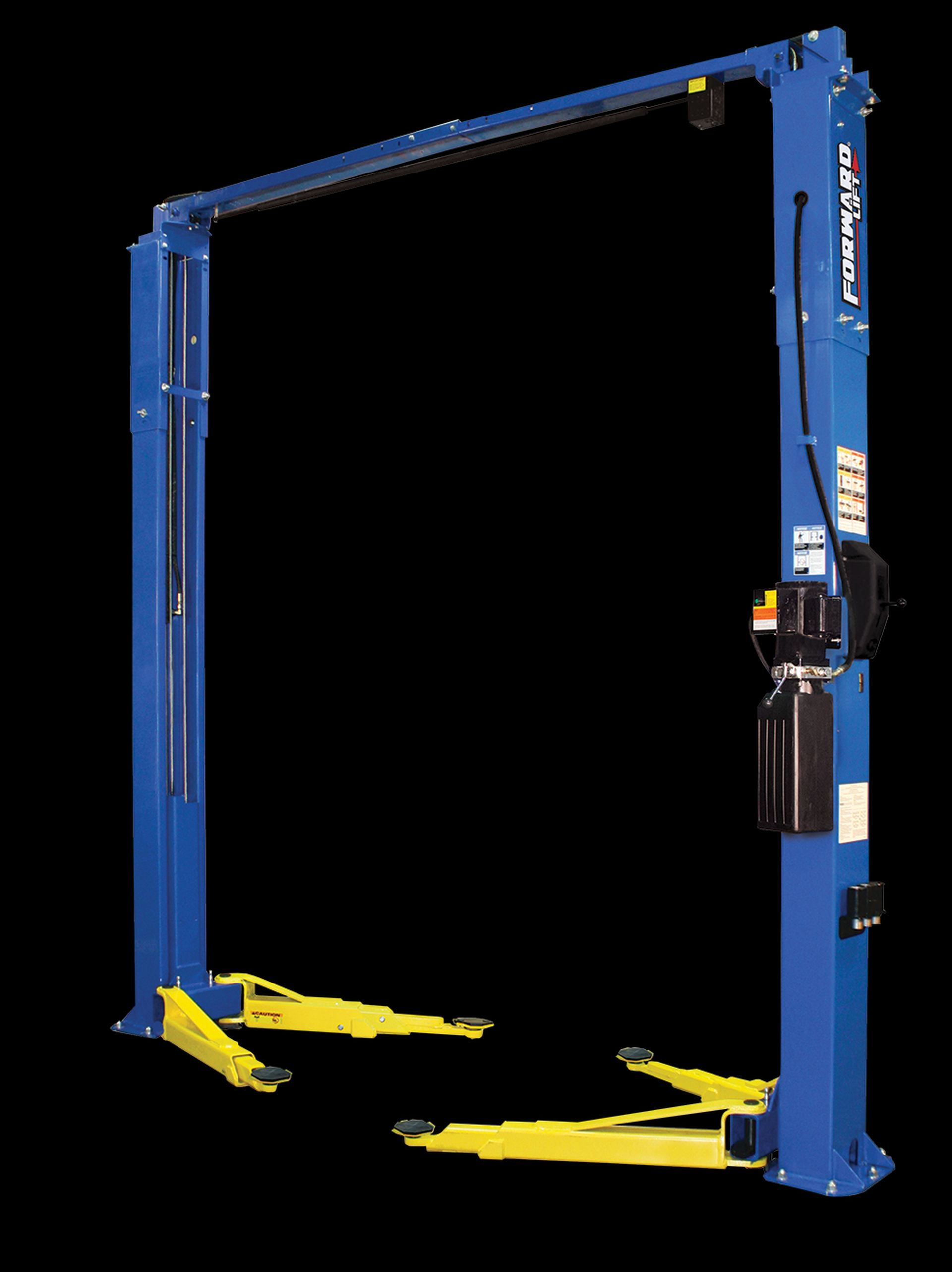 Forward Lift Unveils a Two-Post Lift for Servicing a Wide Range of Vehicles