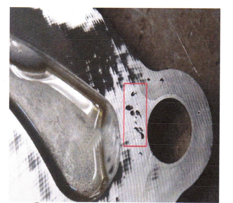 LS engine block porosity causes oil leak