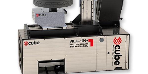 The E-Cube mobile tire service unit comes with a semi-automatic tire changer, wheel balancer,...
