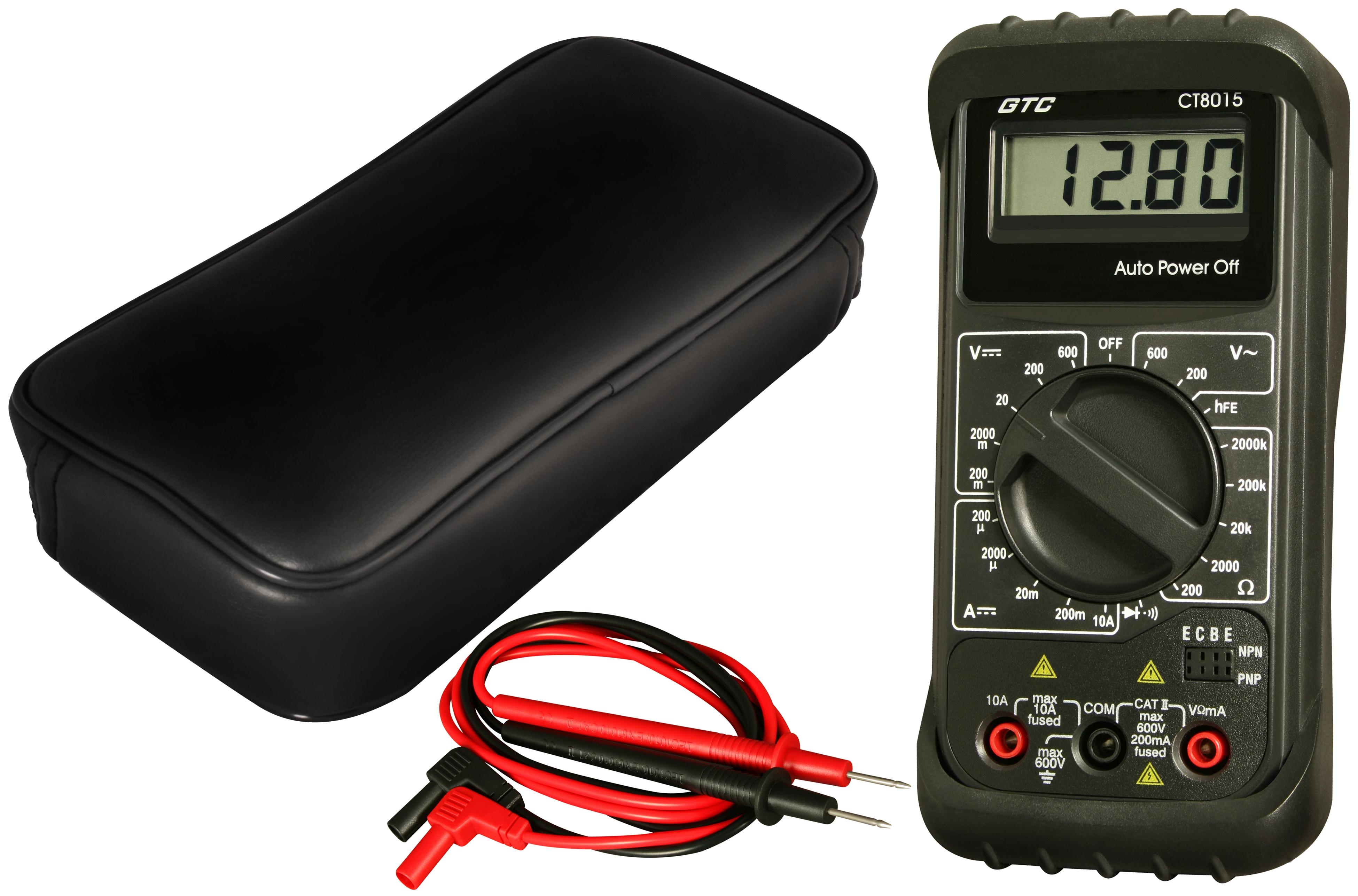 CT8015 Manual Range Digital Multimeter from General Technologies