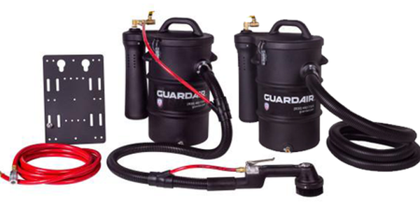 Guardair says its new non-electrical discharge (NED) pneumatic vacuum line is safe for use...