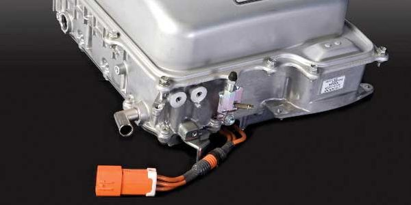 The power inverter is the business end of the hybrid electric vehicle (HEV). This one's from a...