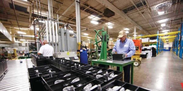 Johnson Controls manufactures absorbed glass mat (AGM) batteries under private label for a range...