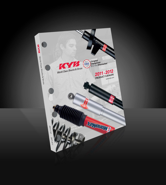 2,800 SKUs in KYB ride control catalog