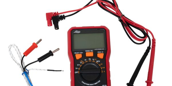 Lisle Corp.'s CAT III digital multimeter comes with tests leads, sensor probe and AAA batteries.