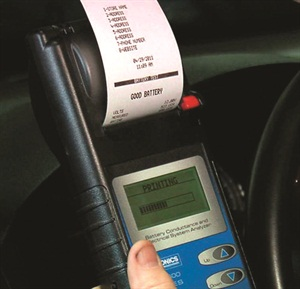 Printouts prove the need to your customer and can be kept with their vehicle records.