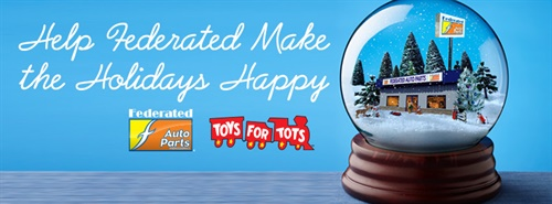 Federated Auto Parts has raised a record $350,000-plus this year for the U.S. Marine Corps Reserve Toys for Tots campaign.
