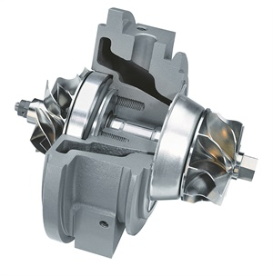 A turbocharger features incredibly tight tolerances. Excess shaft/bearing wear or damage to compressor or turbine fins can result in catastrophic failure. Proper maintenance is critical.