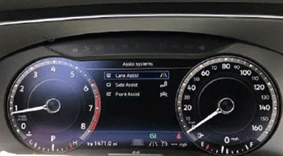 Record customer driver assist presets from the multi-function indicator.