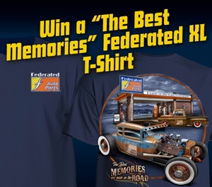 "50 winners will receive a limited-edition Federated ""The Best Memories"" T-shirt."