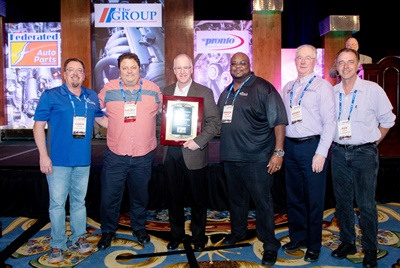 Federated Auto Parts recently honored Intex Auto Parts, Hovis Auto and Truck Supply and Cold Air Distributors for exceptional support of the company's programs.