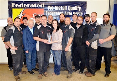 Roy's Autoworks in Howell, Mich., has been selected as the Federated Shop of the Year for 2016.