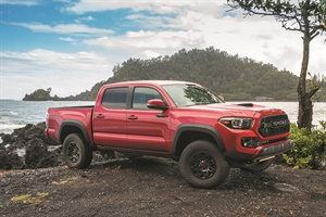 The 2017 Toyota Tacoma might have an issue.