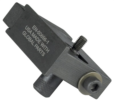 The new OTC timing chain holding tool retains the timing chain position relative to the crankshaft position. It is one of five new OTC tools for servicing select 4-cylinder GM engines.