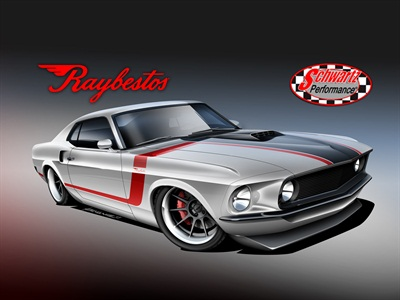 This '69 Ford Mustang Fastback will go to one lucky winner at the 2016 AAPEX in Las Vegas.