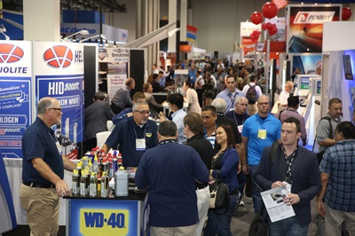 Approximately 160,000 automotive aftermarket professionals from more than 140 countries are projected to be in Las Vegas during AAPEX.