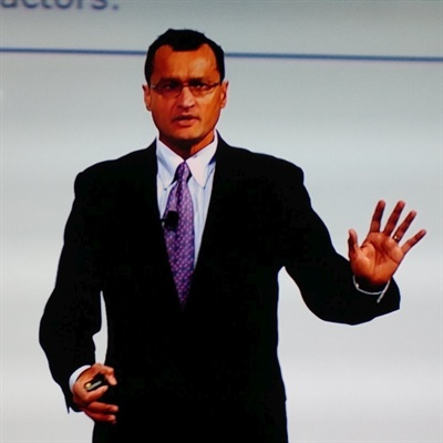 Companies need to plan to compete in some or all of the four states of mobility, said AAPEX keynote speaker Neal Ganguli.