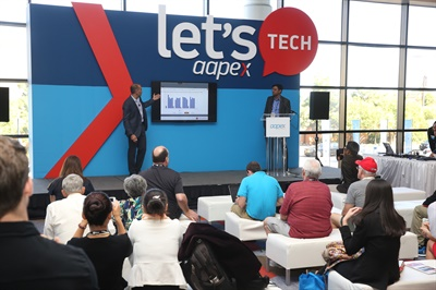 Quick Let's Tech presentations will be presented at the AAPEX show in Las Vegas.