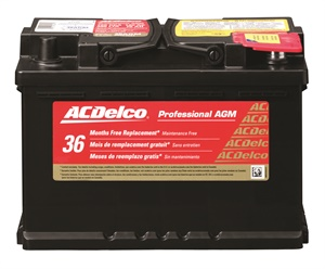 Reserve capacity will be critical in the future, according to ACDelco. The company says it offers some of the highest reserve capacity batteries available for AGM (pictured) and flooded lead acid designs. Photo courtesy of ACDelco.