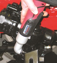 During test tightening, the new ACDelco impact wrench repeatedly de-clutched at each torque value setting.