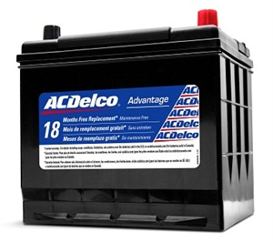 ACDelco's Advantage battery line covers more than 7.5 million vehicles on the road.