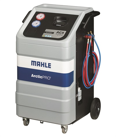 Mahle's new ACX1250 is designed to recover more than 95% of automobile A/C system refrigerant.