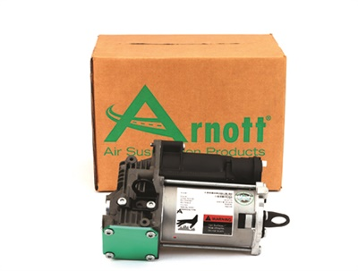 Arnott's new air suspension compressor is designed for the 2006-2013 Mercedes-Benz R-Class.