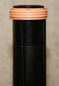 Verify that the filter seal is fully installed on the filter neck and not stuck in the valve body.