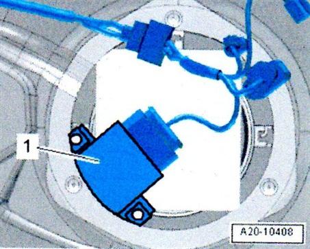 Control unit for fuel pump electronics.