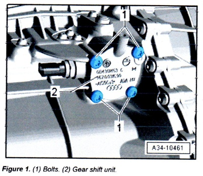 The improved gear shift unit is offered as P/N 0B1 301 230 B.