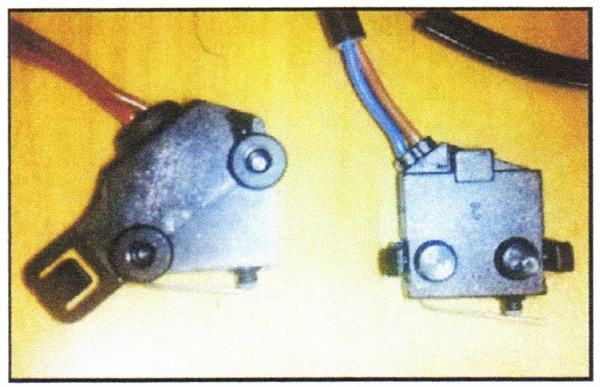 Design differences between the two contact switches.