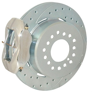 Rotors that feature cross-drilled holes and grooves are designed to reduce hydro-gassing between the pads and disc surfaces, as well as aid in pad debris removal. These features can promote superior braking by reducing gas buildup and increasing the coefficient of friction.