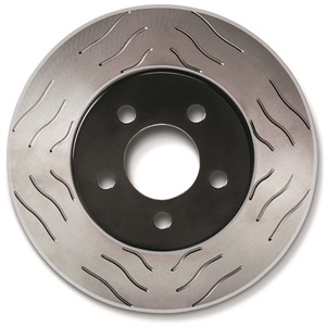 "Raybestos' R-300 performance rotors feature an ""S-Groove"" slot design that simultaneously allows for out-gassing on both leading and trailing ends of the pad's swept area while maintaining maximum surface contact. The slot design is also non-directional, allowing the same rotor part number to be installed on both sides of the same axle. The high carbon rotor features a ""black fusion"" corrosion-preventative coating on the hat and a ""grey fusion"" corrosion-resistant coating on the disc, making them able to withstand 300 hours of saltwater exposure, the company says."